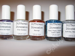 Haul – DifferentDimension Indie Polish – und kleines NotD