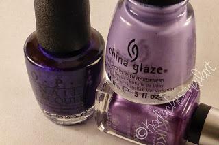 Purple Double Saran Wrap