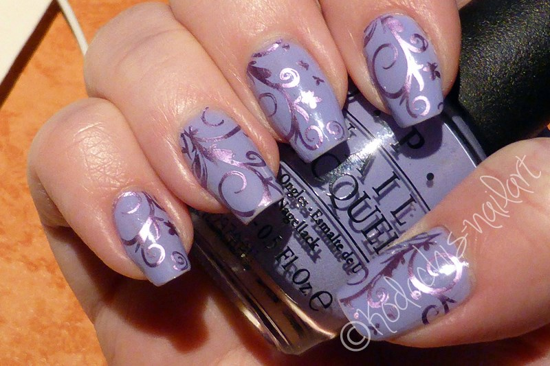 NotD - opi - You're such a Budapest Stamped