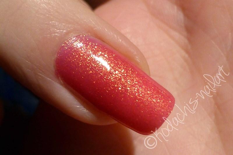 Liquid Sky Laquer - 24 Karat Rose Finger Cold