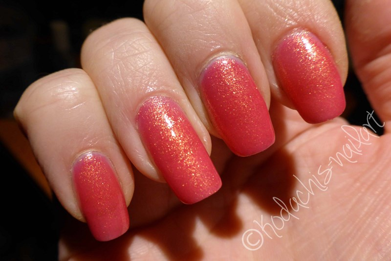Liquid Sky Laquer - 24 Karat Rose Cold