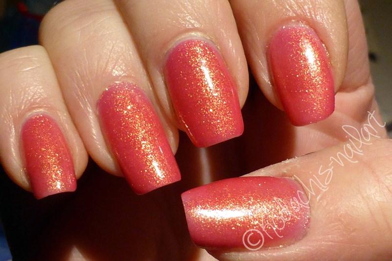 Liquid Sky Laquer - 24 Karat Rose Cold Shimmer