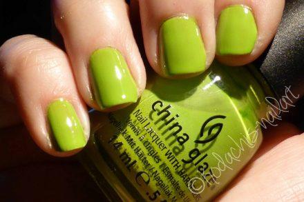 Lacke in Farbe und Bunt – hellgrün