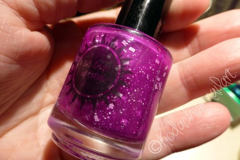 365 days of Polish - Under my Big Purple Umbrella Bottle
