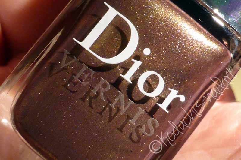 Dior - Aztec Chocolate Bottle Closeup