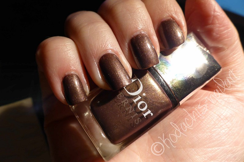 Dior - Aztec Chocolate Mani3