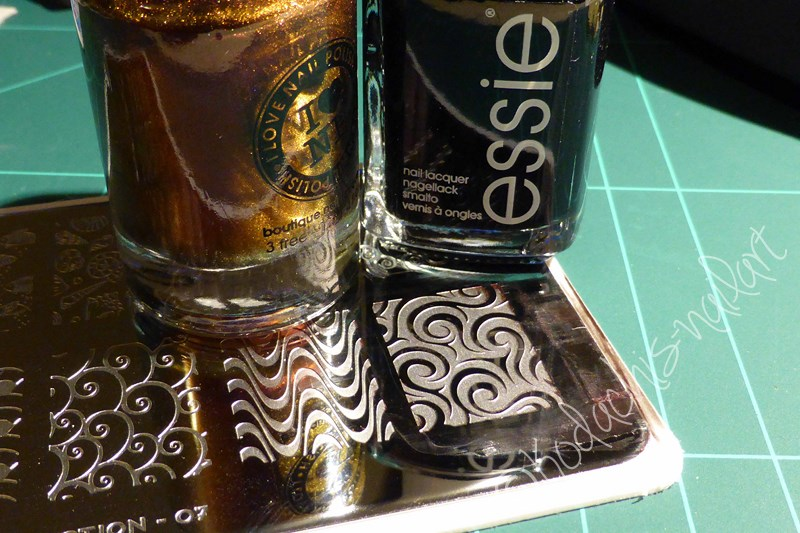 ILNP - Undenied Stamping over Black Material