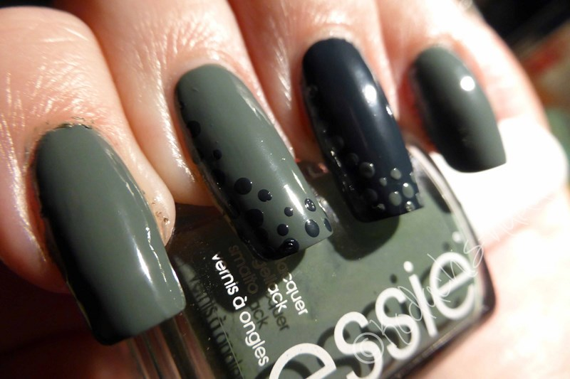 Essie - fall in line & the perfect cover up dotting