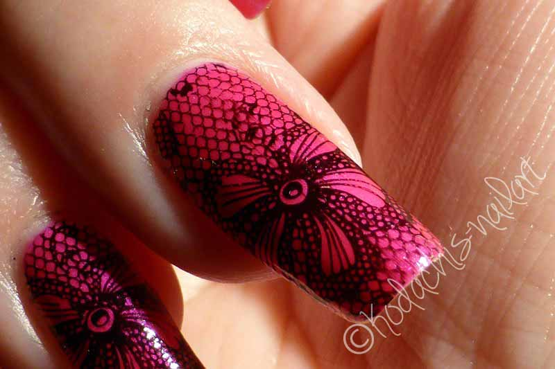 Color Club Kapow! mit Stamping Closeup