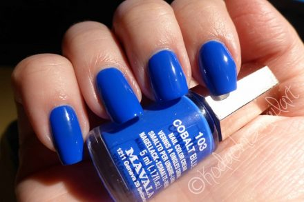 Mavala – Cobalt Blue – Lacke in Farbe und Bunt