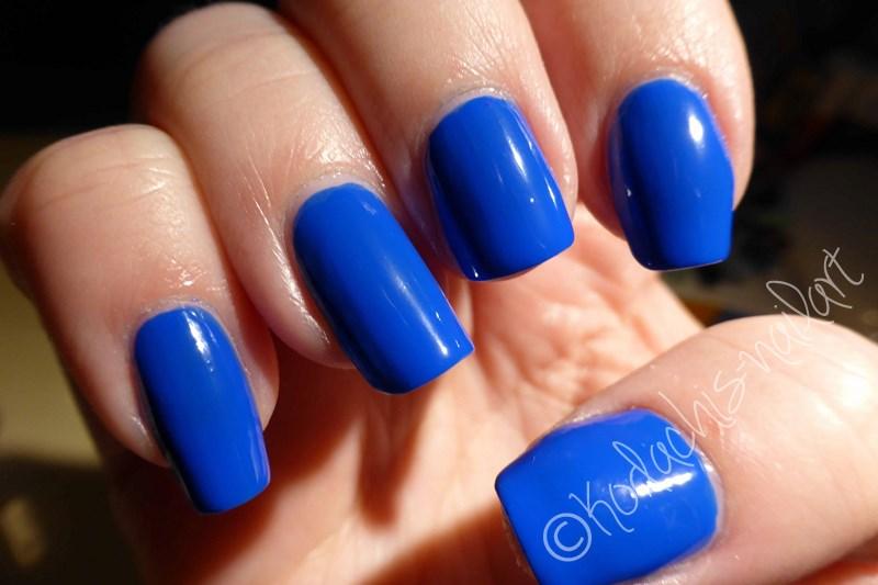Mavala - Cobalt Blue - Licht