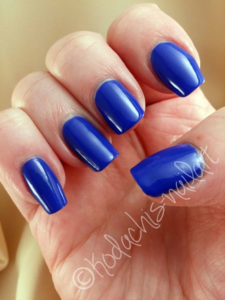 Mavala - Cobalt Blue - Lightbox