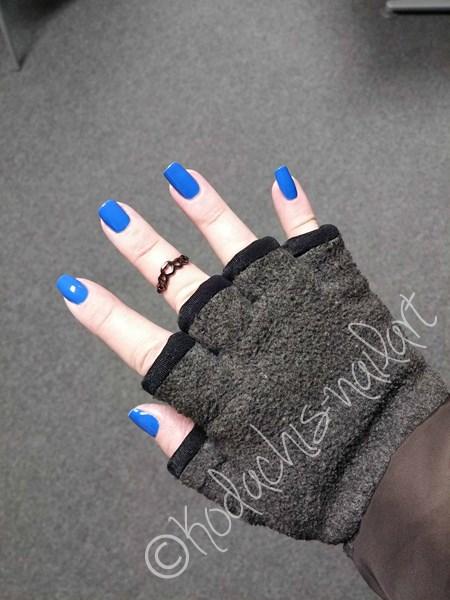 Mavala - Cobalt Blue - Winterfest im Handschuh