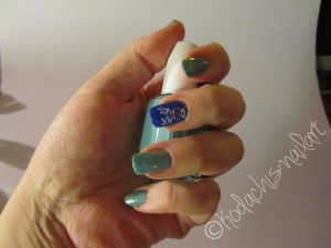 Essie Butler Please - stamping- Where's my Chauffeur plus Beyond cozy left