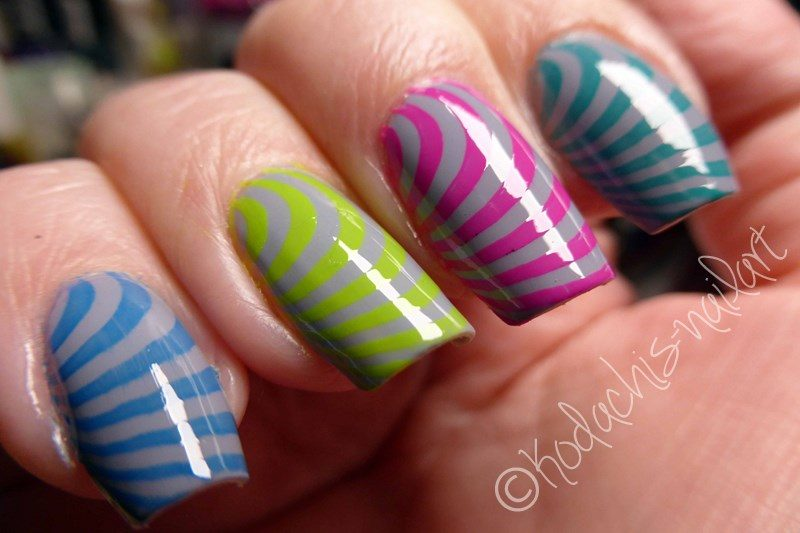 Neon Stamping mit Liquid Sky Lacquer