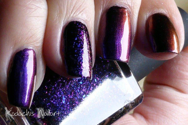 ILNP – Multichrome oder Frau die auf Nägel starrt