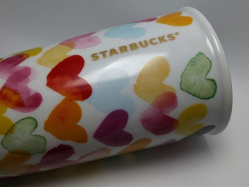 Starbucks Heart Mug