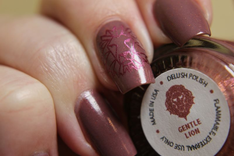 Delush Polish - Gentle Lion - Label