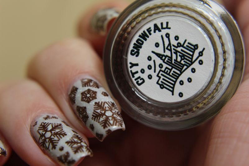 Scofflaw - City Snowfall - with stamping and label