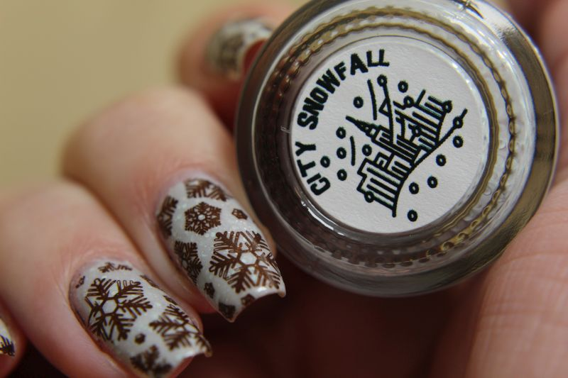 Scofflaw - City Snowfall - mit Stamping und LAbel