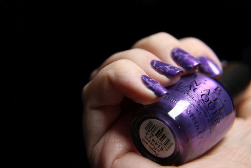 Opi – Purple with a Purpose