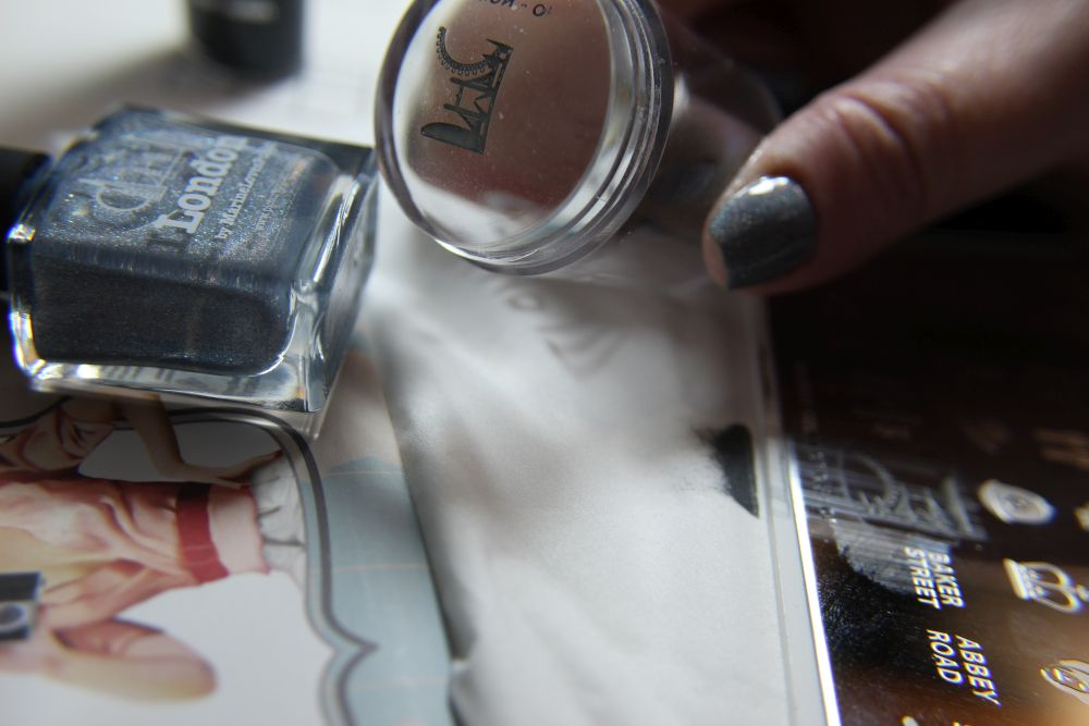 Picture Polish - London Stamp