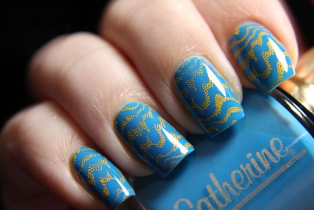 Catherine - Too Cool - Stamping