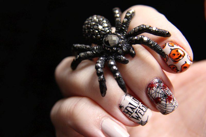 Halloween Nails 2018 – erster Versuch