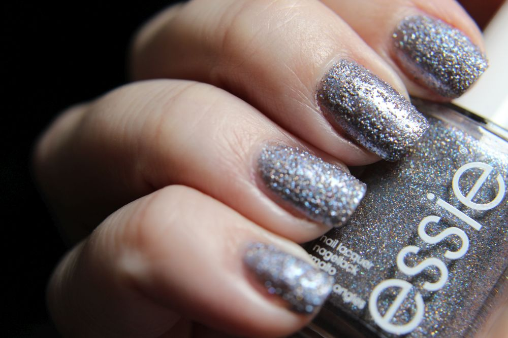 Essie Concrete Glitter - Stay up slate