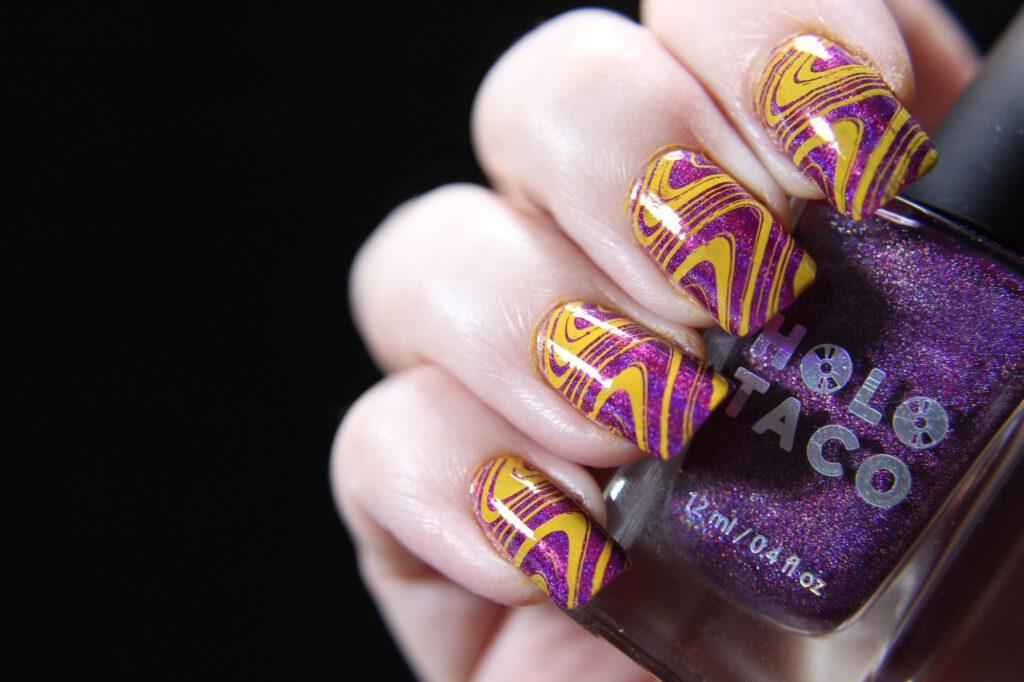 Holo Taco - Magenta Jelly - Stamping