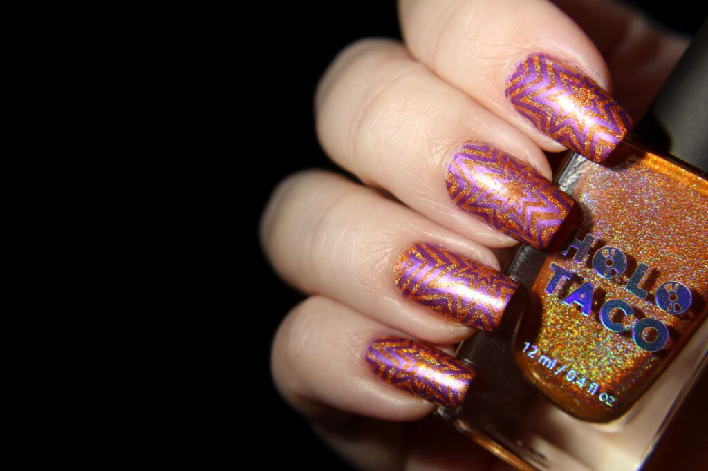 Holo Taco - Orange Drink - Stamping
