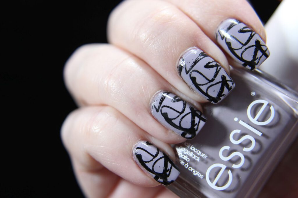 Essie - No place like stockholm - Stamping
