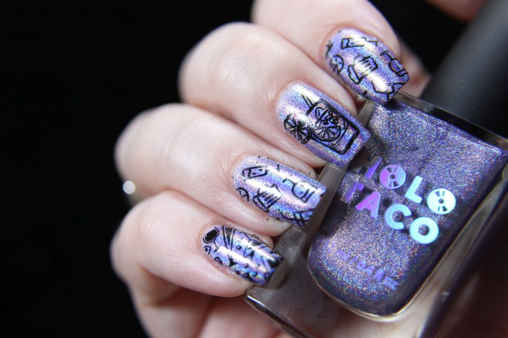 Holo Taco - Lavendar Syrup - Stamping