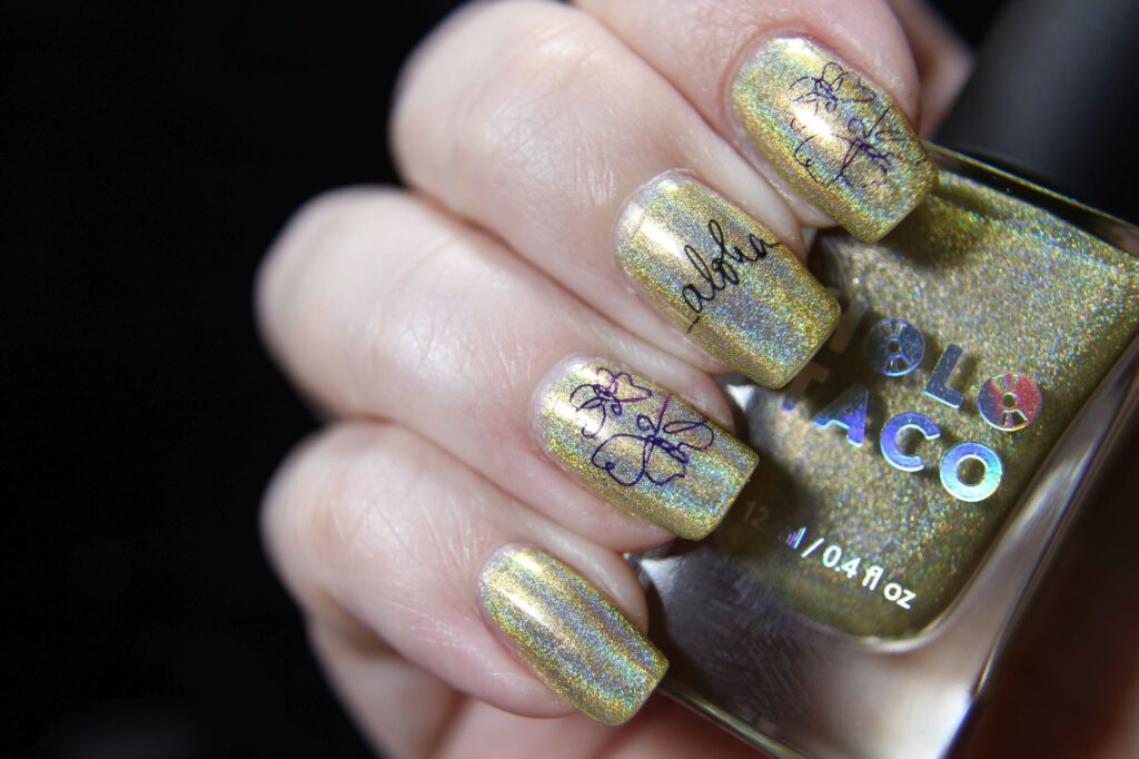 Holo Taco - Lemon Spritzer - Stamping